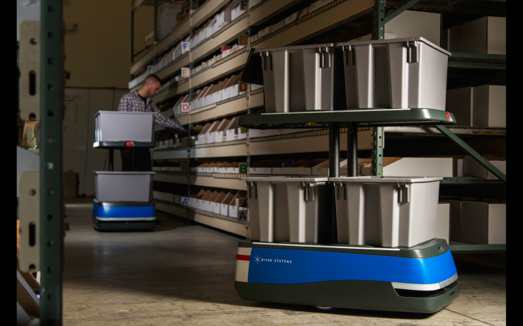 6 River Systems unveils warehouse robots that show workers the way